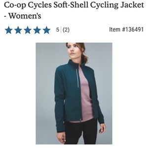 REI Co-op Cycles Soft-Shell Cycling Jacket, Size L